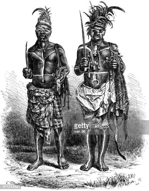 witch doctor - west africa stock illustrations, clip art, cartoons, & icons