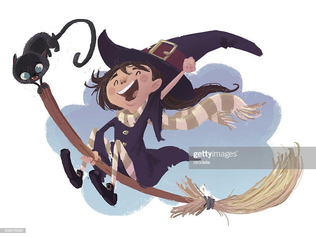 witch girl : Illustrationer