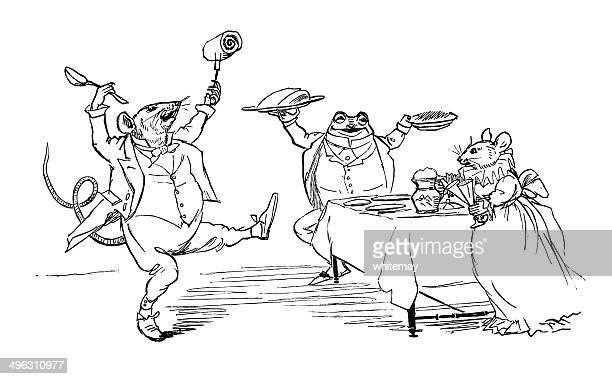 Con rowley-powley, gammon y espinaca
