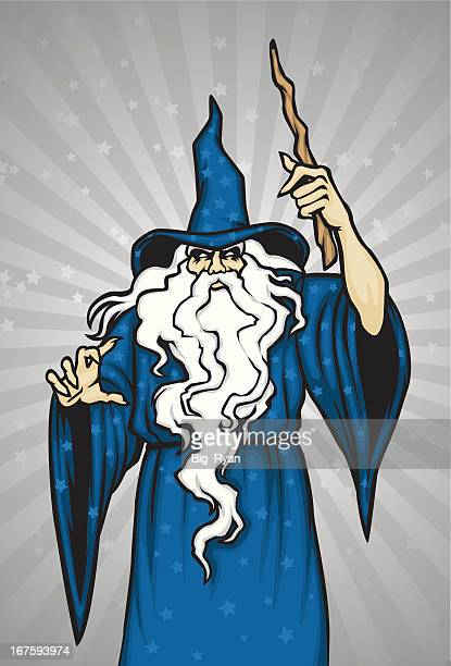 wizard - wizard stock illustrations, clip art, cartoons, & icons