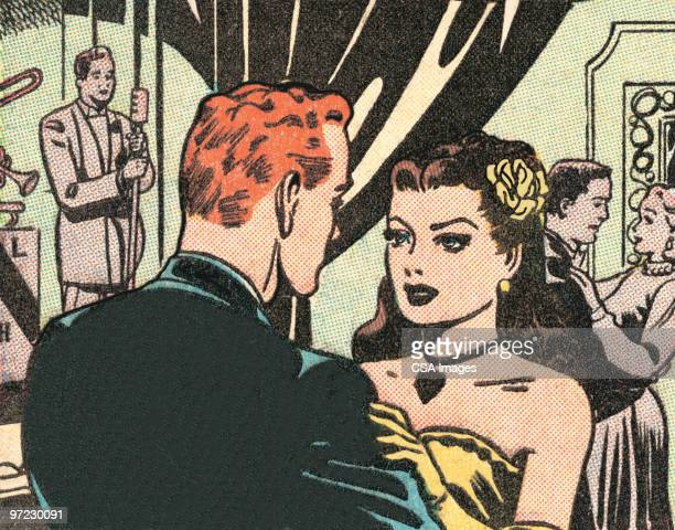 woman crying - ballroom stock illustrations