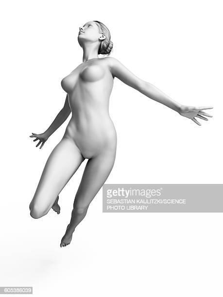 woman dancing, illustration - human representation stock illustrations
