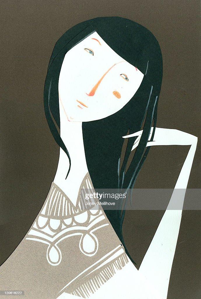 Woman : stock illustration