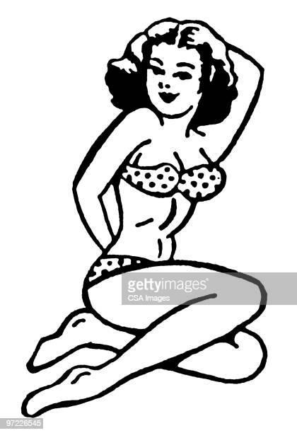 ilustraciones, imágenes clip art, dibujos animados e iconos de stock de woman - reina de belleza