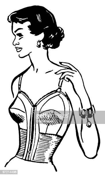 woman posing - en búsqueda stock illustrations