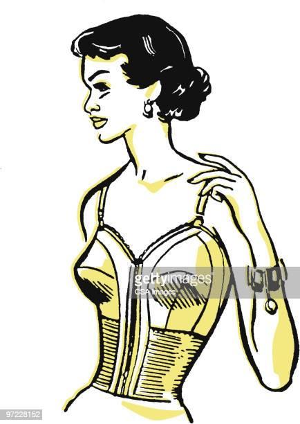 woman posing - en búsqueda stock illustrations
