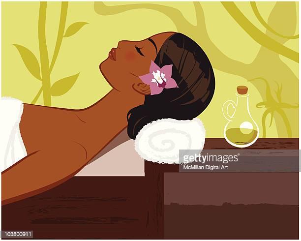 60 Top Massage Table Stock Illustrations, Clip Art
