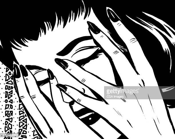 60 Top Hands Covering Eyes Stock Illustrations, Clip Art