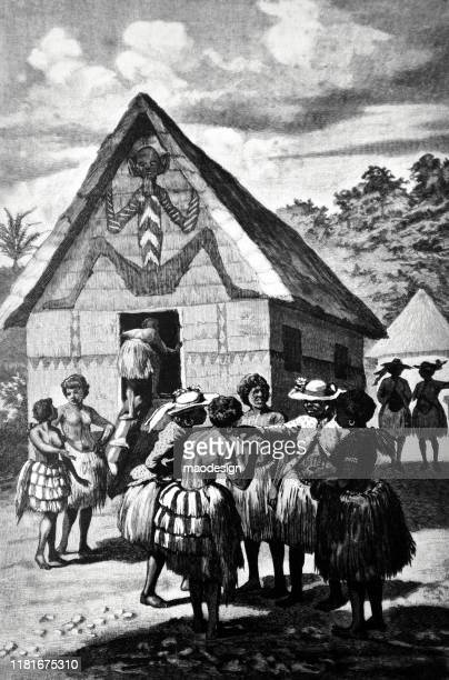 women in an african village - 1887 stock illustrations, clip art, cartoons, & icons