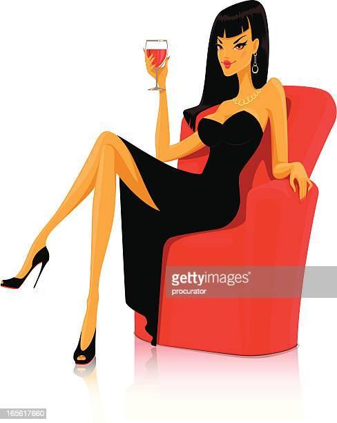 Women in chair