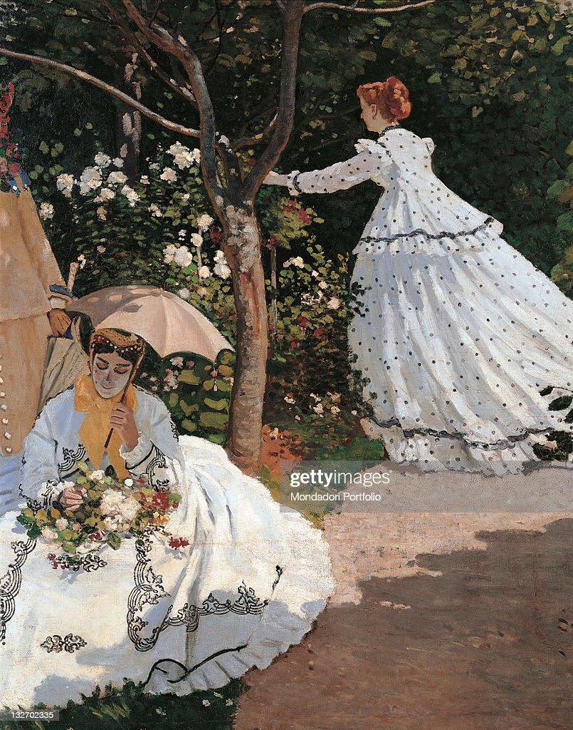 Women In The Garden, By Claude Monet, 1866   1867, 19th Century, Oil On  Canvas, Cm 255 X 205. Nice Design