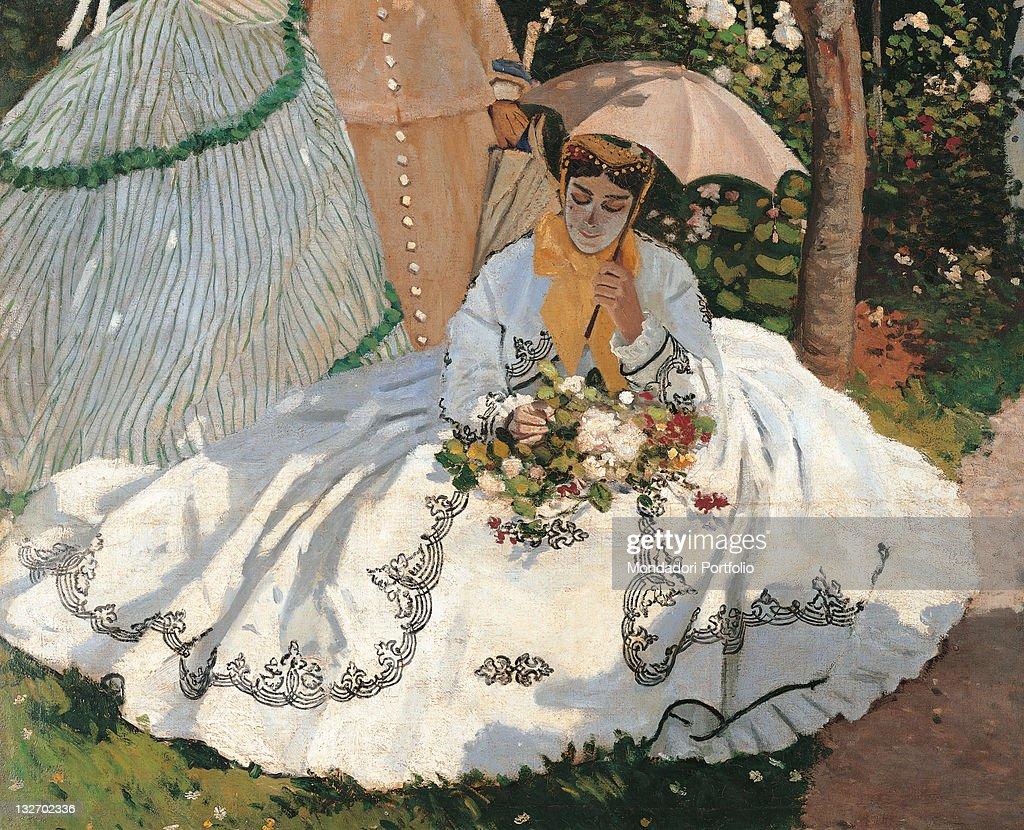 Women In The Garden, By Claude Monet, 1866   1867, 19th Century, Oil On  Canvas, Cm 255 X 205.