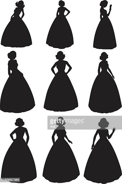 Evening Gown Stock Illustrations And Cartoons | Getty Images