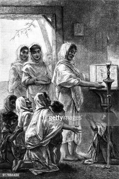women pray to their gods in paraguay - 1877 stock illustrations, clip art, cartoons, & icons