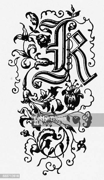 World S Best Fancy Letter K Stock Illustrations Getty Images