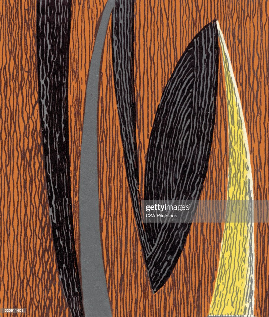 Woodgrain Pattern : Stock Illustration