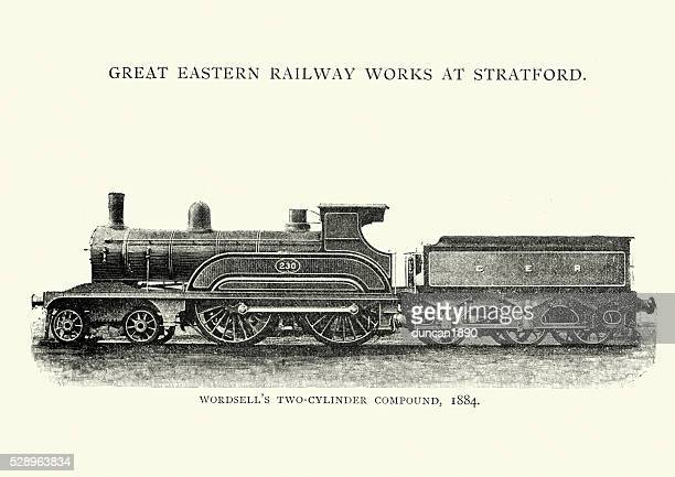 Wordsell's two cylinder compound Locomotive, 1884