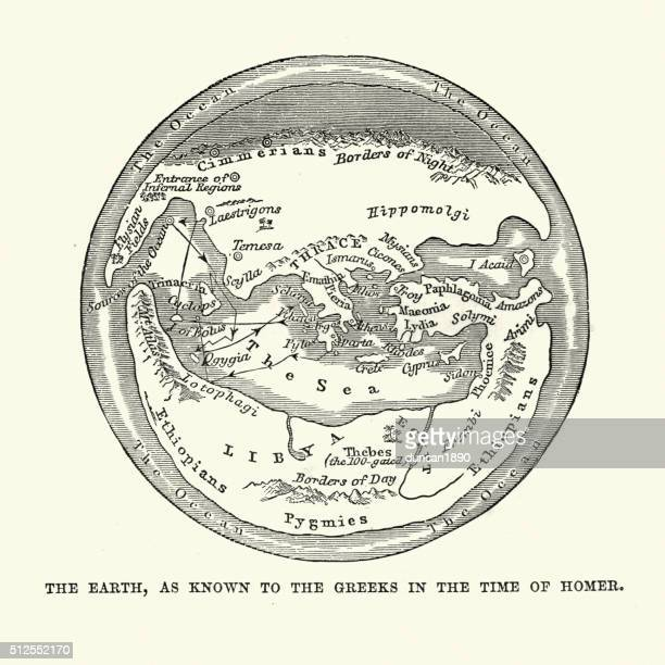 World as known to the ancient greeks
