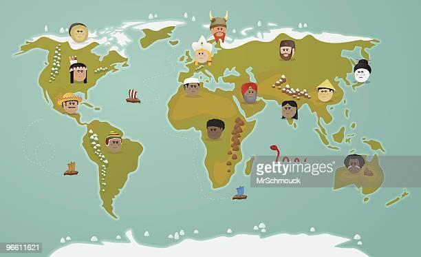 illustrations, cliparts, dessins animés et icônes de la civilisation mondiale - chapeau chinois