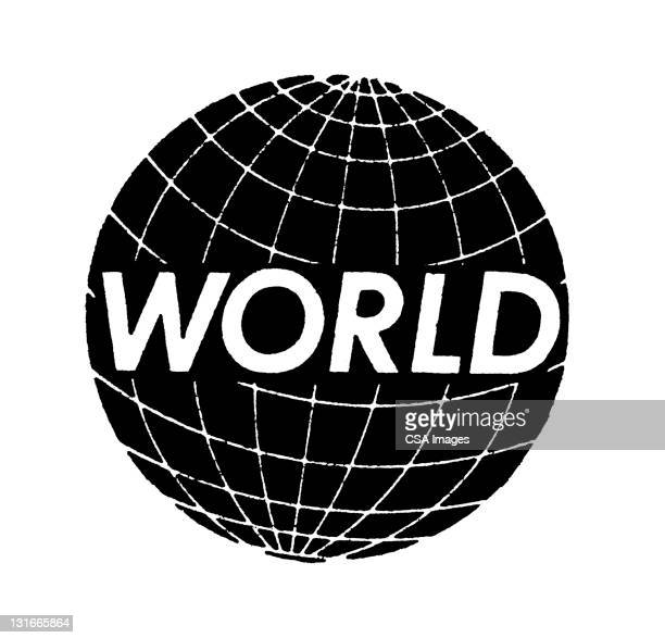 illustrations, cliparts, dessins animés et icônes de world globe - hémisphère