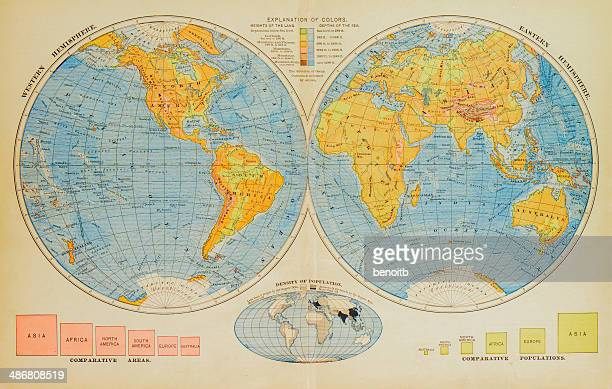 Eastern Hemisphere Stock Illustrations And Cartoons