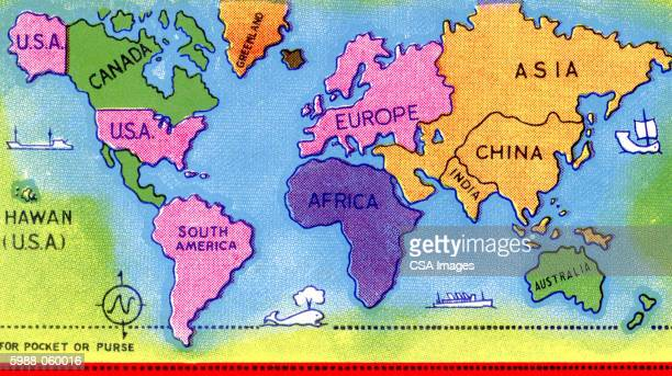 world map - journey stock illustrations