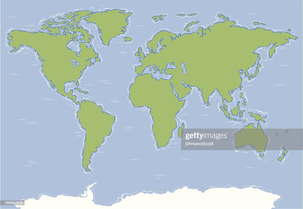 World map two.