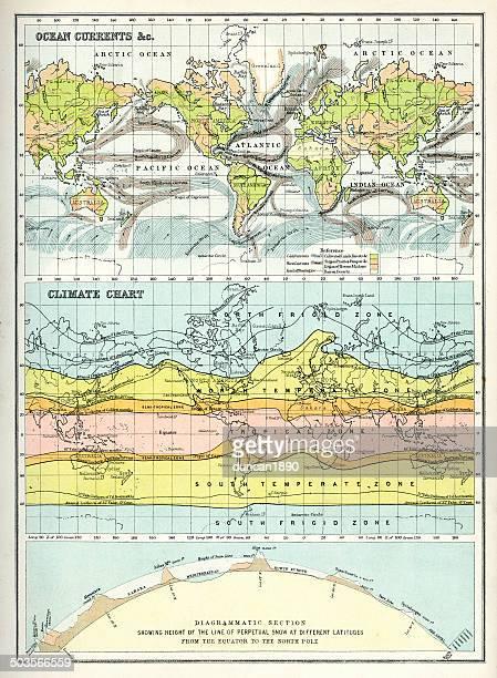 world maps - tide stock illustrations, clip art, cartoons, & icons