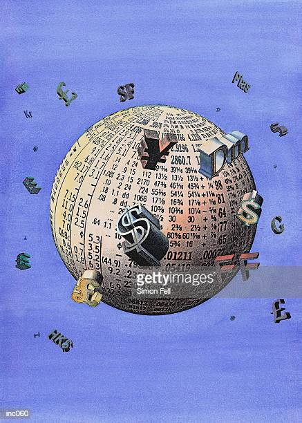 world market - franc sign stock illustrations, clip art, cartoons, & icons