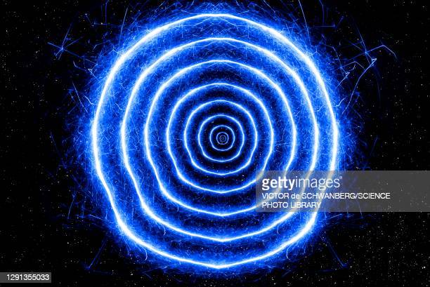 wormhole, conceptual illustration - physics stock illustrations