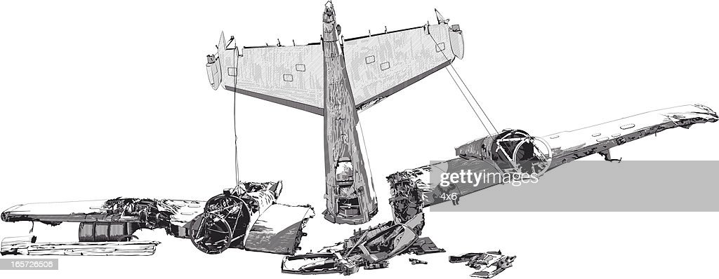 Wreckage Dun Accident Davion Illustration Getty Images