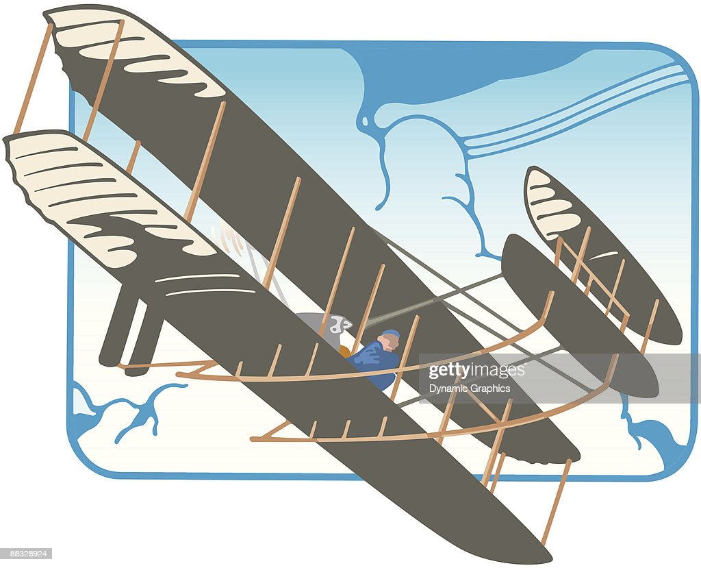 Uncategorized Plane Color 19001910 wright brothers plane color grouped elements illustrator 1900 1910 ver 3 first to