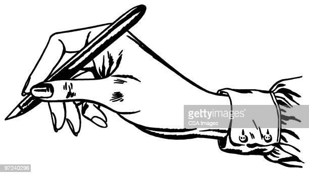 writing - writing stock illustrations