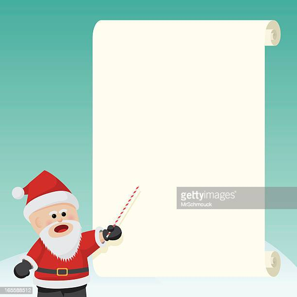 xmas planning - list stock illustrations, clip art, cartoons, & icons