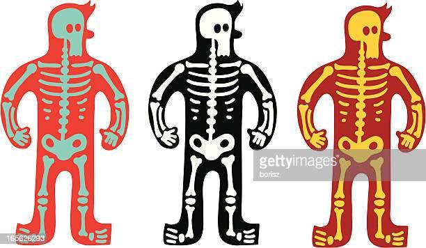 ilustraciones, imágenes clip art, dibujos animados e iconos de stock de x-ray - hueso de la pierna