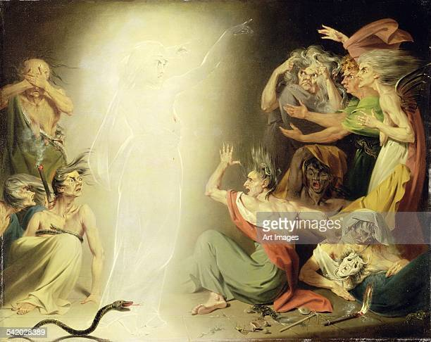 The Ghost of Clytemnestra Awakening the Furies, 1781