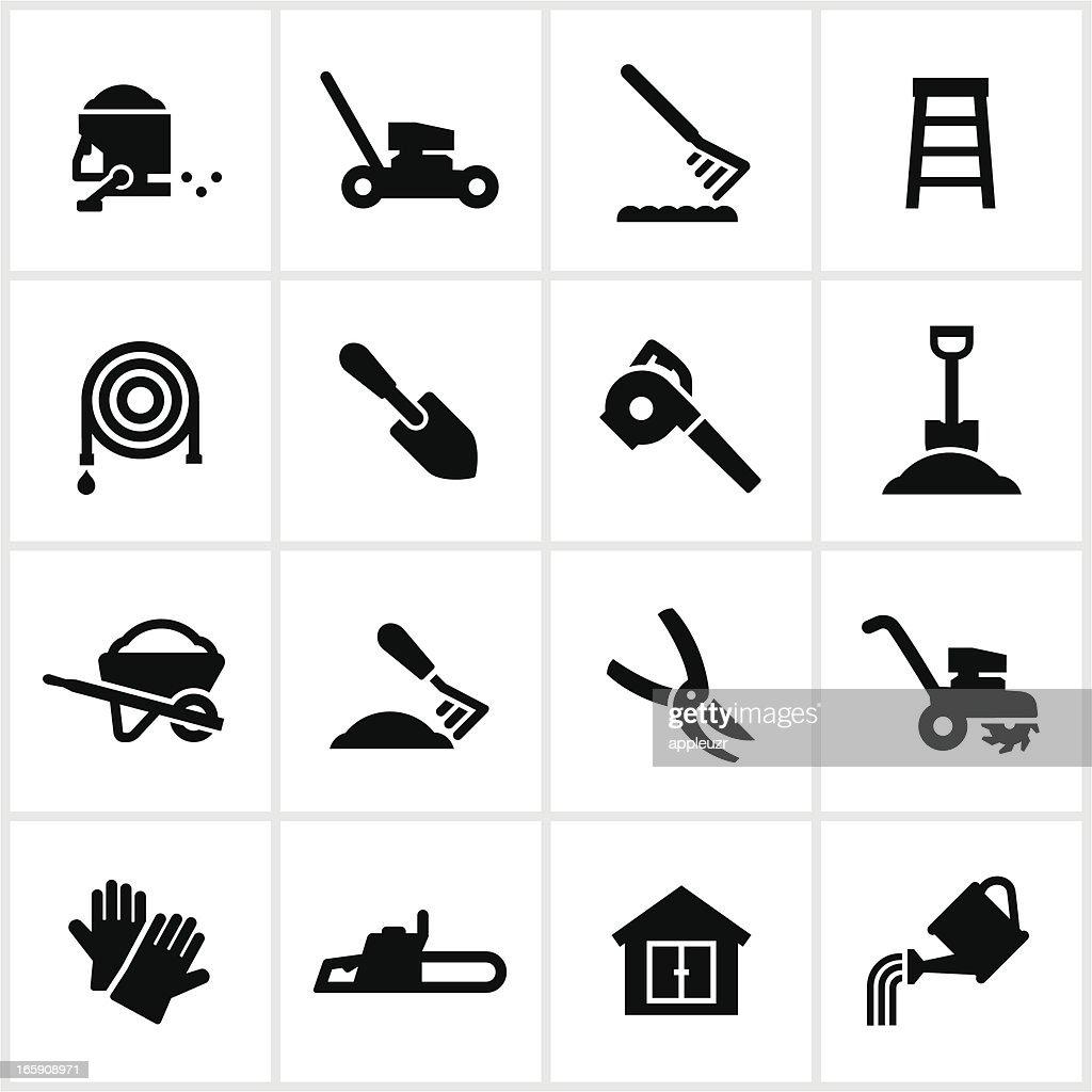 Yard Equipment Icons