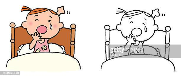 stockillustraties, clipart, cartoons en iconen met yawn - yawning