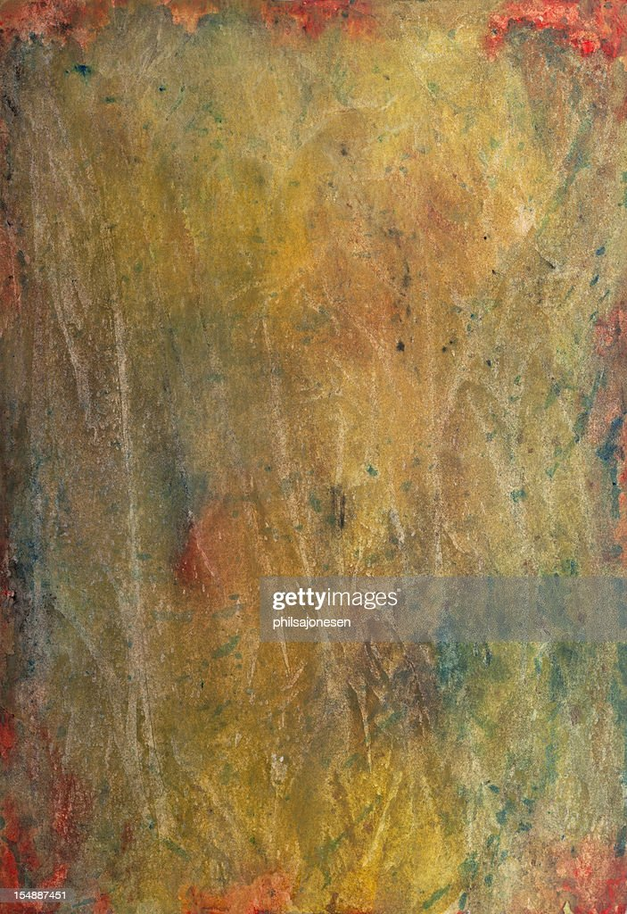 Yellow Abstract Painting : stock illustration