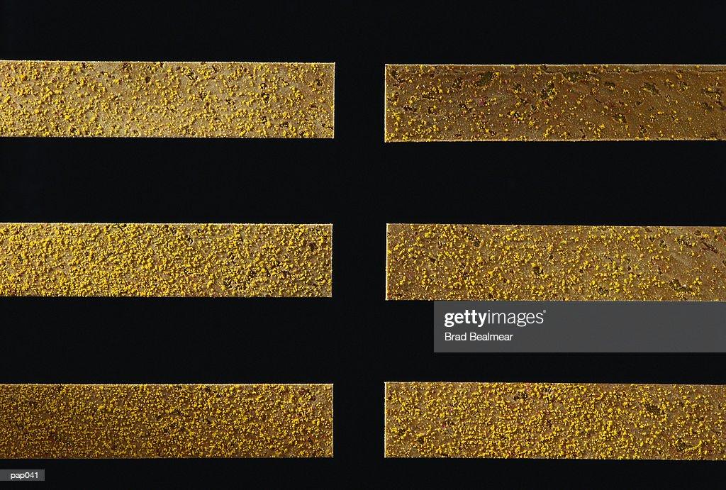 Yellow on Black Background : Stockillustraties