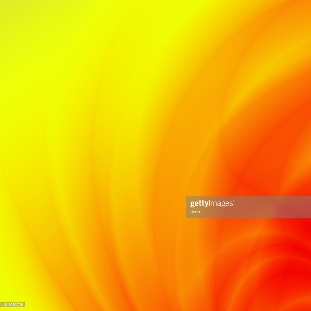 Yellow Orange Wallpaper Modern Card Design Stock Illustration