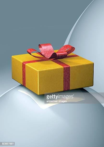 yellow parcel - surprise stock illustrations
