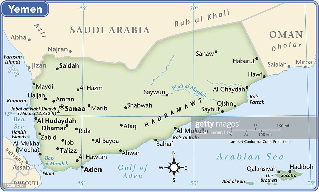 Yemen country map vector art getty images yemen country map vector art gumiabroncs Choice Image