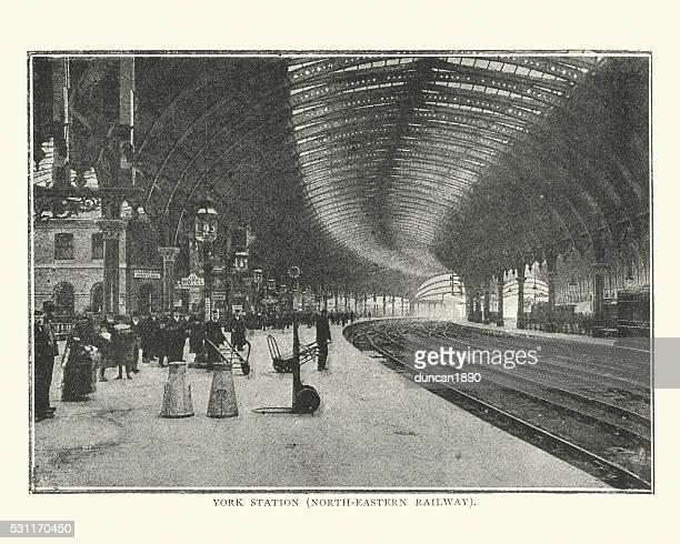 York Railway Station, late 19th Century