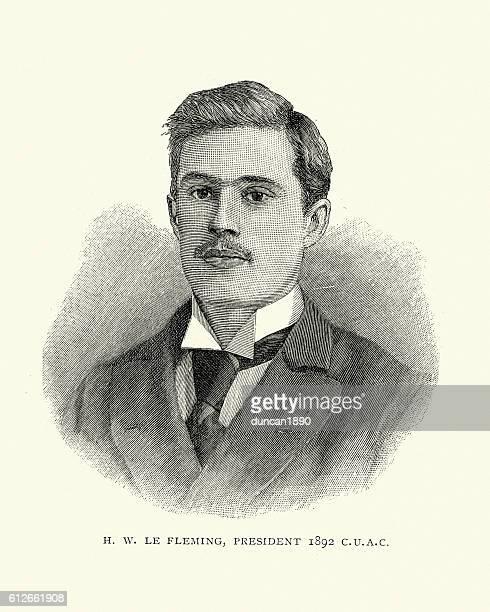 ilustraciones, imágenes clip art, dibujos animados e iconos de stock de young victorian man, 1892 - adulto joven