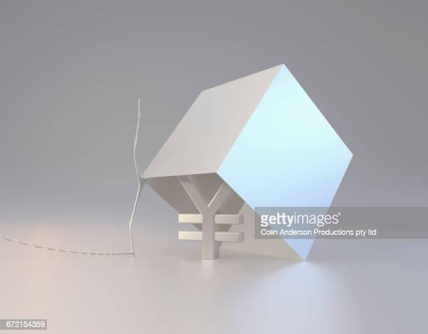 yuan symbol inside box trap - 中国元記号点のイラスト素材/クリップアート素材/マンガ素材/アイコン素材
