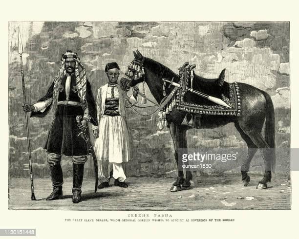 Zebehr Pasha, Arab slave trader, 19th Century