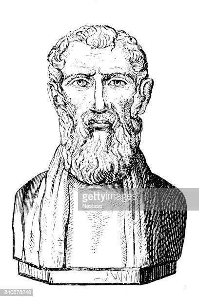Zeno of Citium (333 B.C.. - 263 B.C.), Greek philosopher, founder of stoicism