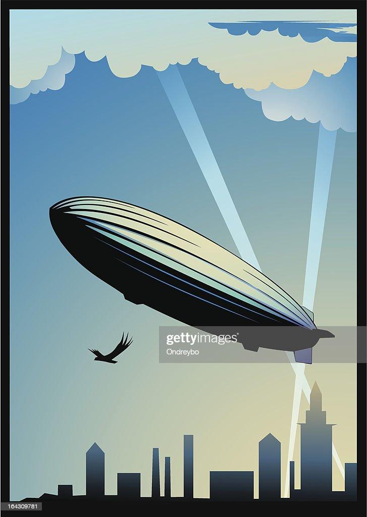 Zeppelin dirigeable