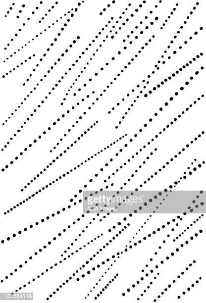 zig zag dots pattern - rain stock illustrations